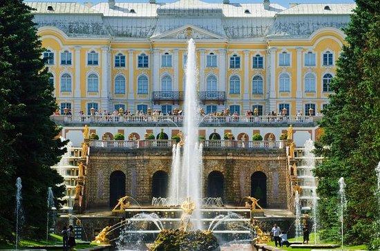 St Petersburg Must-See's and Peterhof...