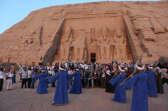 Kairo till Abu Simbel på väg