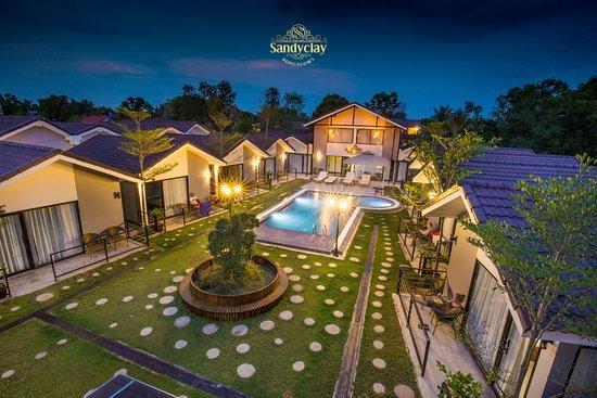 sandy clay bungalows hotel sihanoukville cambodge voir les tarifs et 6 avis tripadvisor. Black Bedroom Furniture Sets. Home Design Ideas