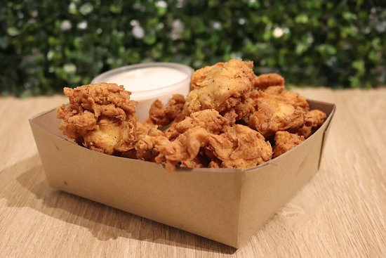Petone, New Zealand: Sides ; Popcorn Chicken