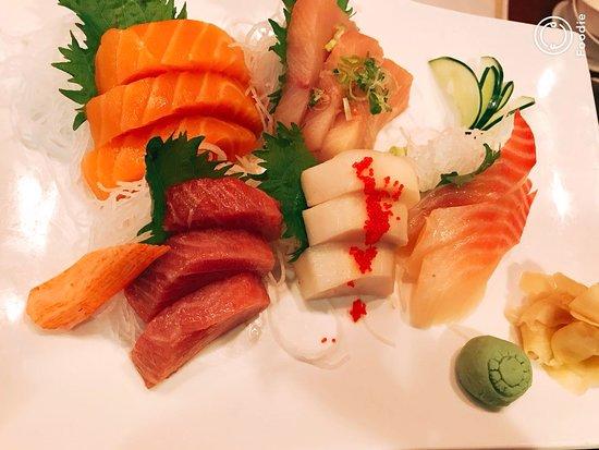 Sarver, PA: sashimi dinner