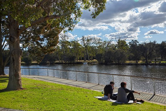 Ascot, Australia: It's a great place to chill out in natural surrounds.