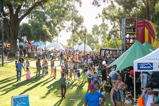 Ascot, Australia: It's the site of the City of Belmont's free Kidz Fest, Autumn River Festival & Avon Descent Fun