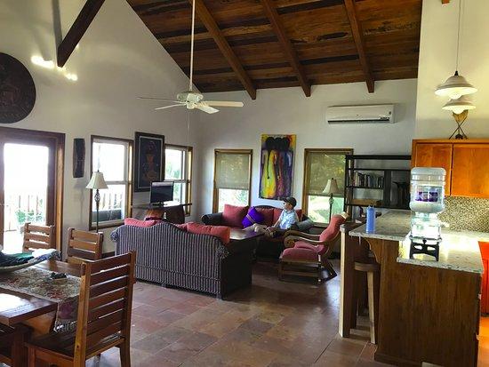 El Pescador Resort: villa living room