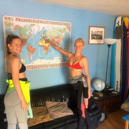 Aloha Brothers Surf Lessons: Julia and Rachel killed it!!!