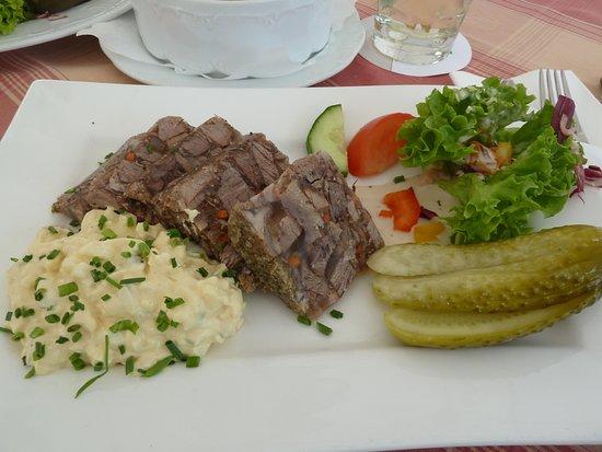 Wachenheim an der Weinstrasse, ألمانيا: Wilschweinsülze