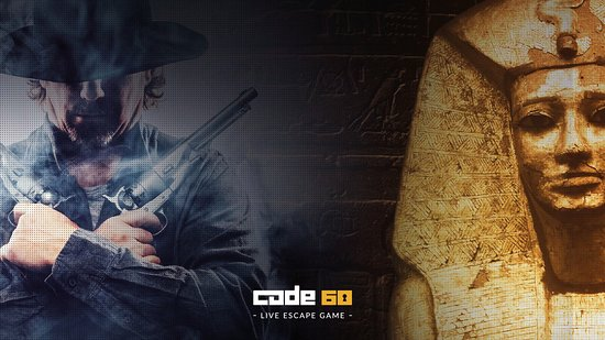 ‪Code 60 - Live Escape Game‬