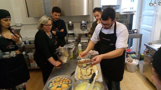 Corso Pasticceria - Foto di Cucina di Classe, Salerno - TripAdvisor