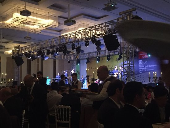 Bilkent Hotel and Conference Center: TCDD Gala-2