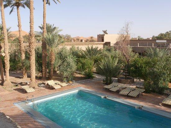Kasbah Le: vue de la terrasse de l'hôtel