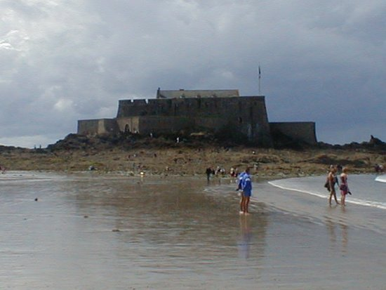 Fort National: Vue de la plage