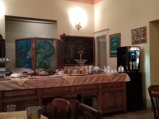 Hotel Azzi - Locanda degli Artisti: buffet colazione