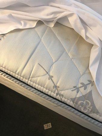 Blessington, Ireland: no mattress protectors.