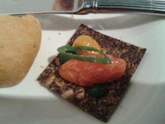 Gruß aus der Küche - Bild von philipps Restaurant, Hamburg ...