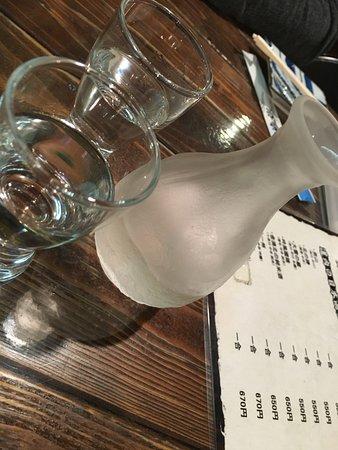 Kaisen Robatayaki Dairyobata: Good Sake