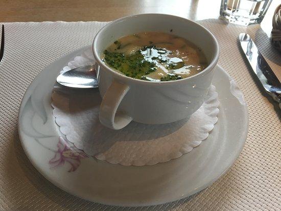 Gryon, Szwajcaria: Potage aux légumes...super bon !