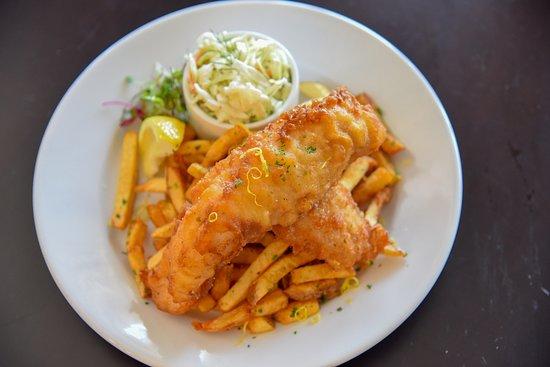 Topsham, ME: fried haddock