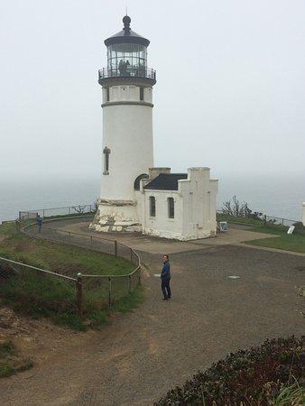 Ilwaco, WA: northern lighthouse