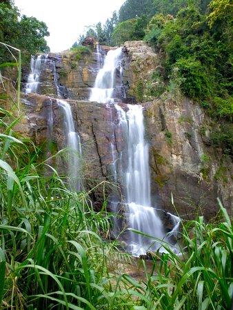 Ramboda Falls in Nuwara Elia