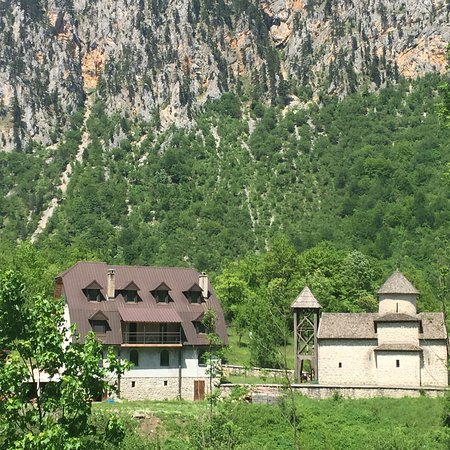 Mojkovac, Montenegro: Prachtig oud klein orthodox kerkje