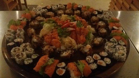 Tucuma: sushi