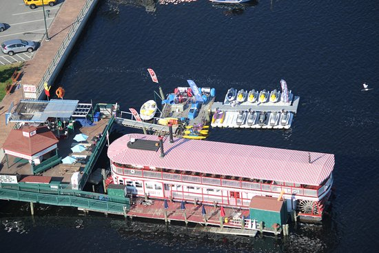 Naples Maine River Boat