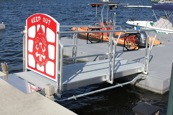 Fire and Rescue Dock Naples Maine