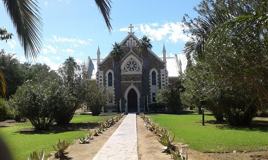 Jansenville, Sør-Afrika: Front facade of church