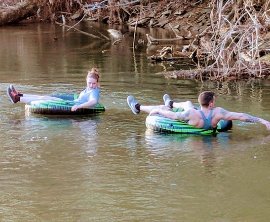 Norton, VA: Go on a tubing adventure.