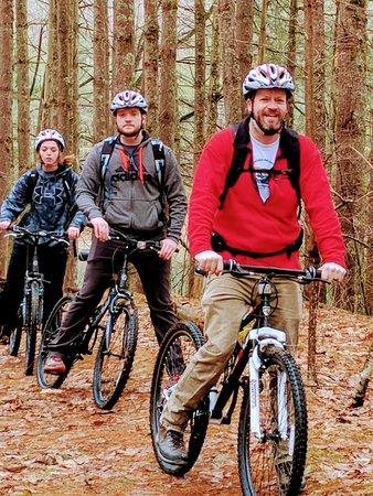Norton, VA: Take a guided mountain bike tour.