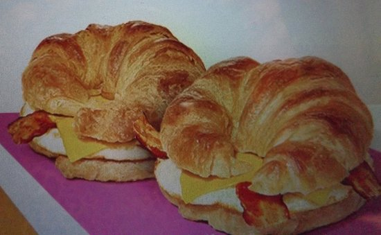 Fort Gratiot, MI: Fabulous bacon, egg, cheese croissants, 2 for $5.00.