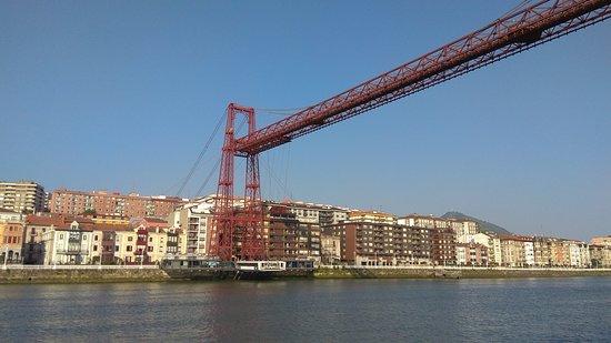 Puente Colgante Vizcaya: Ponte muito original