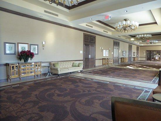 Elkhart Lake, WI: Hallway Outside of Large Ballroom