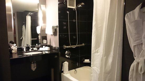Grand Hyatt DFW : お湯はたっぷり