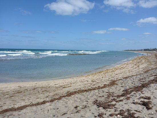 Jensen Beach, Φλόριντα: Bathtub Reef Beach auf South Hutchinson Island