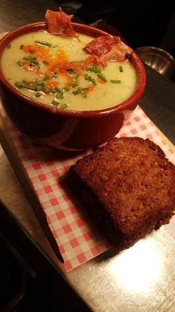 Freshly made soup everyday