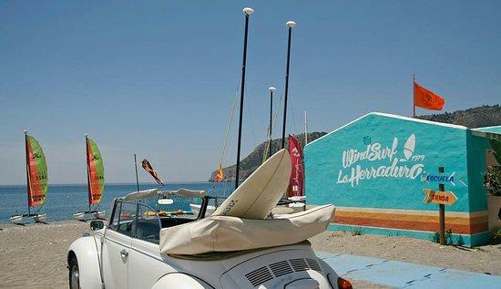 La Herradura, إسبانيا: Windsurf La Herradura