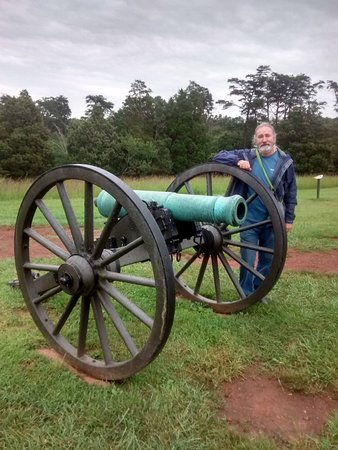 Manassas National Battlefield Park: Rebel Canon at Manassas