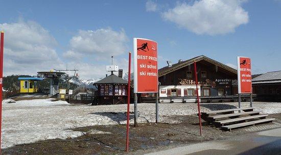 Katschberg, ออสเตรีย: Skischule nach der Saison