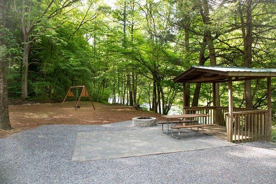 Little Arrow Outdoor Resort: On River RV Site