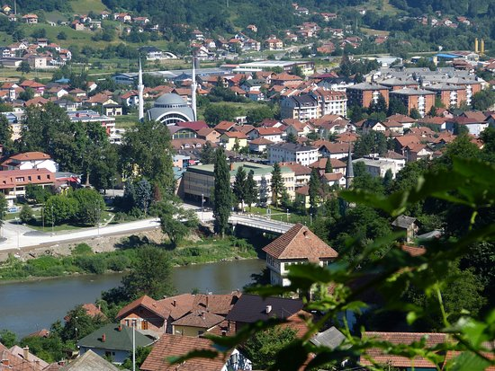 Maglaj, Bosna aHercegovina: Pogled s Moruše