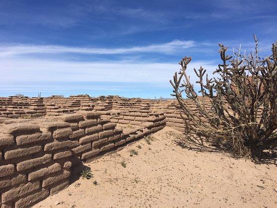 Bernalillo, Nuevo Mexico: Recreated ruins