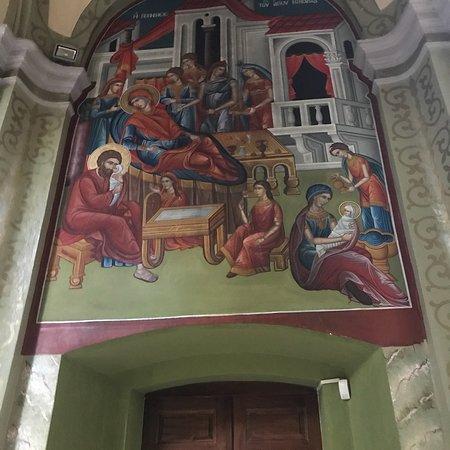 Lungro, Italy: Icone in stile bizantino di epoca recente