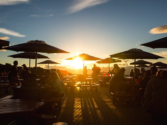 Sunset on a Whistler Patio