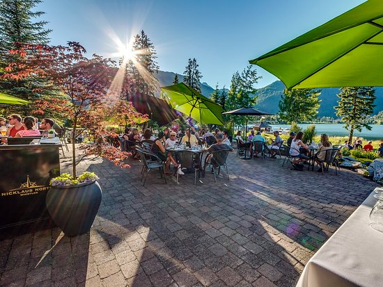 Patio Dinning in Whistler
