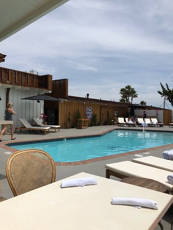 Los Alamos, Californien: Pool and Bar area