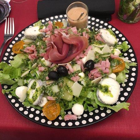 la pause napolitaine : Salade pesto