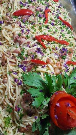 Provincia de Chiriquí, Panamá: Spaguetti a la carbonara