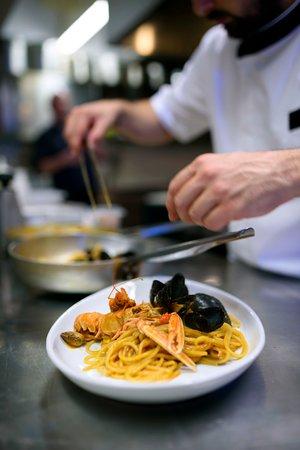 Ristorante Pizzeria del Porto : Spaghetto allo scoglio
