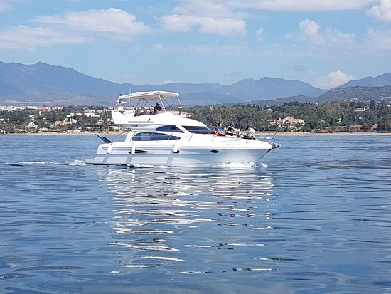 7817bda00a03 Red Tide Charter  marbella boat fishing trip hen party children fishing  puerto banus costa del